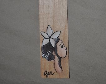 Flower fairy bookmark