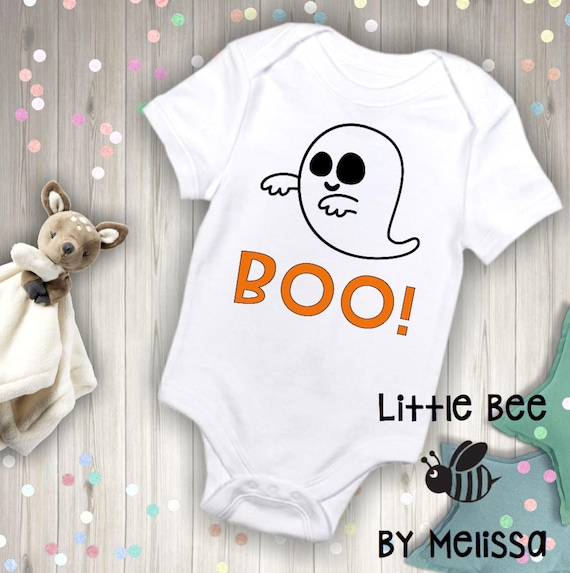 Baby Boo Ghost Costume Outfit Cute Halloween Bodysuit Baby Bodysuit Gift