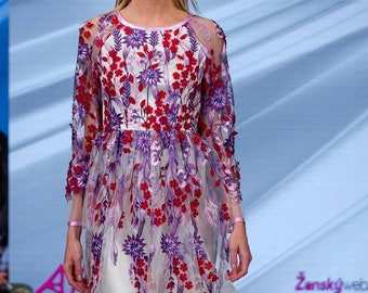 Original 3d tulle dress