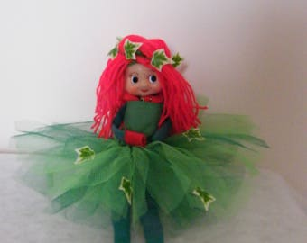 Poison Ivy elf outfit,  elf prop,  elf accessory