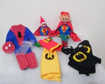 Elf prop, elf accessories, Elf superhero outfits, elf clothing, elf outfits, baby elf