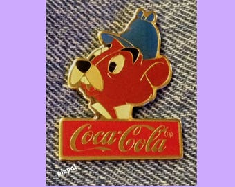 DISNEY COCA COLA 15TH ANNIVERSARY FANTASYLAND PIN LE