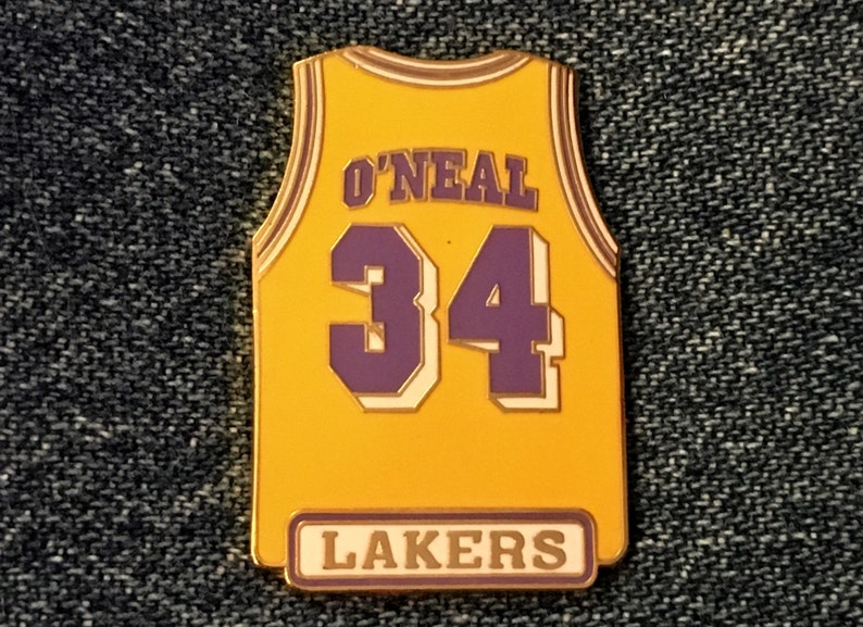 1998 Los Angeles Lakers Shaquille O Neal 34 Jersey  9ba22f6f8363