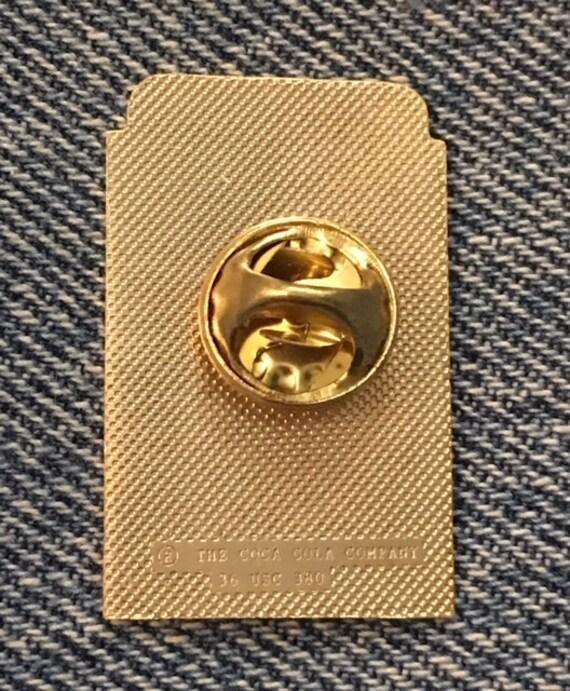 Shooting Olympic Pin Badge ~ Barcelona ~ 1992 ~ M/&M Mars