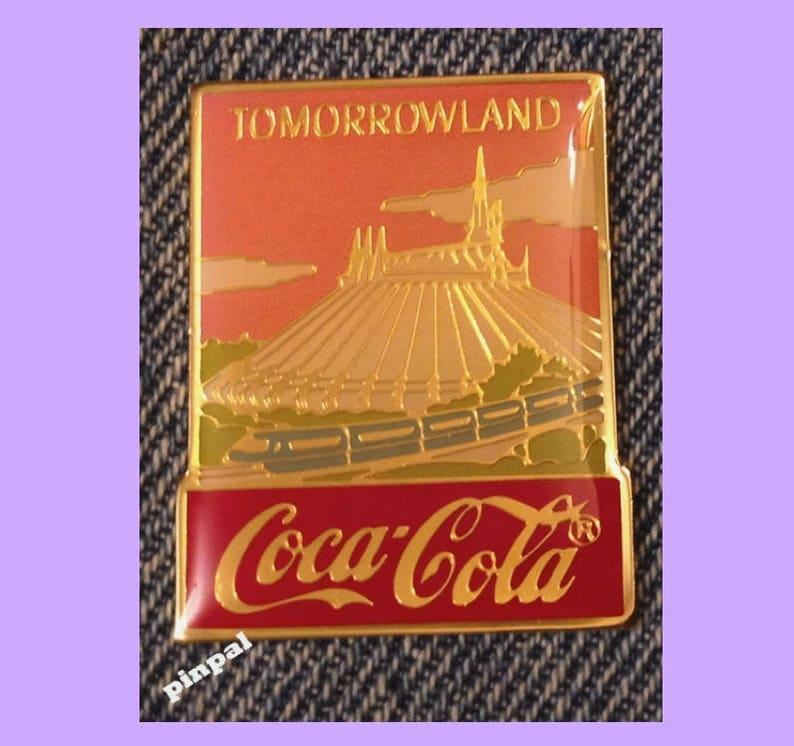 Disney Pin ~ Bashful ~15th anniversary~WDW~1986~Coca Cola~Coke