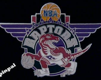 1994 Toronto Raptors Pin ~ NBA ~ Basketball ~ Official Licensed by Peter David Inc.