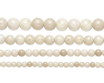 Riverstone Gemstone Rounds hand cut 1 strand Available in 4mm//6mm//8mm//10mm//12mm