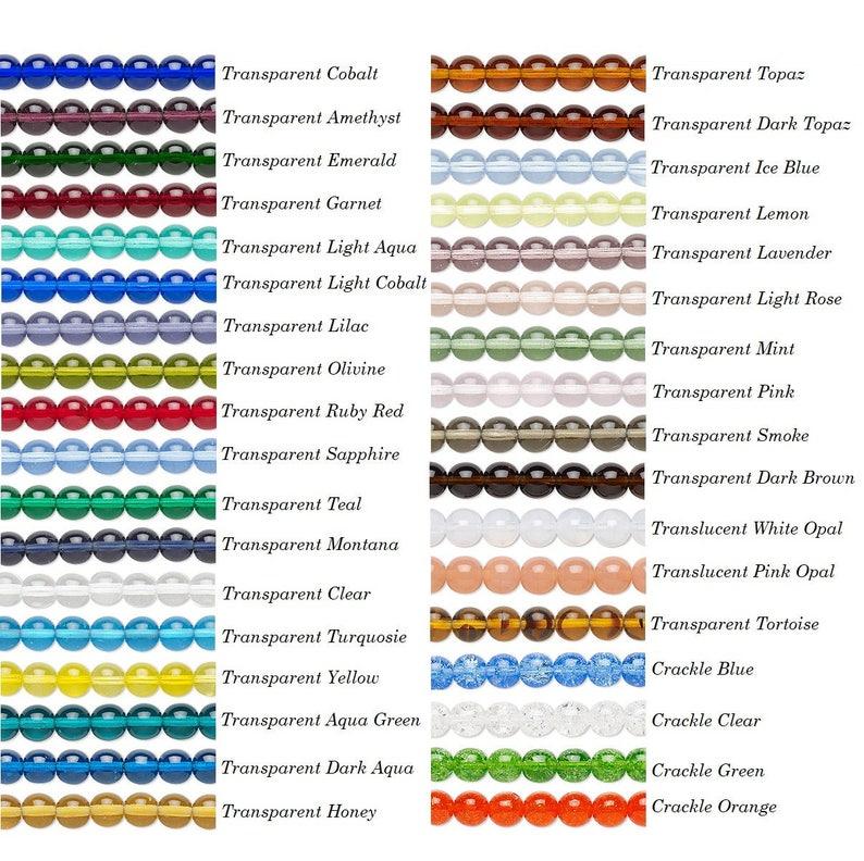 16 inch strand preciosa czech glass round druk beads 4mm preciosa druk glass beads 4mm round. 4mm czech preciosa glass round beads druk