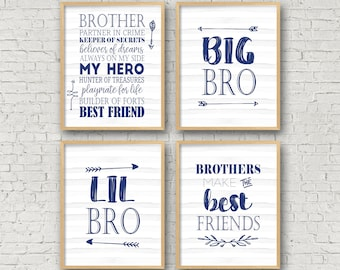 Brothers quote | Etsy
