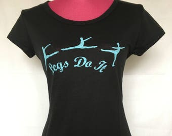 Dance, Gymnastics or Ballet Graphic Tee-shirt for Teachers, Students, Dancers, and Gymnasts - great gift idea