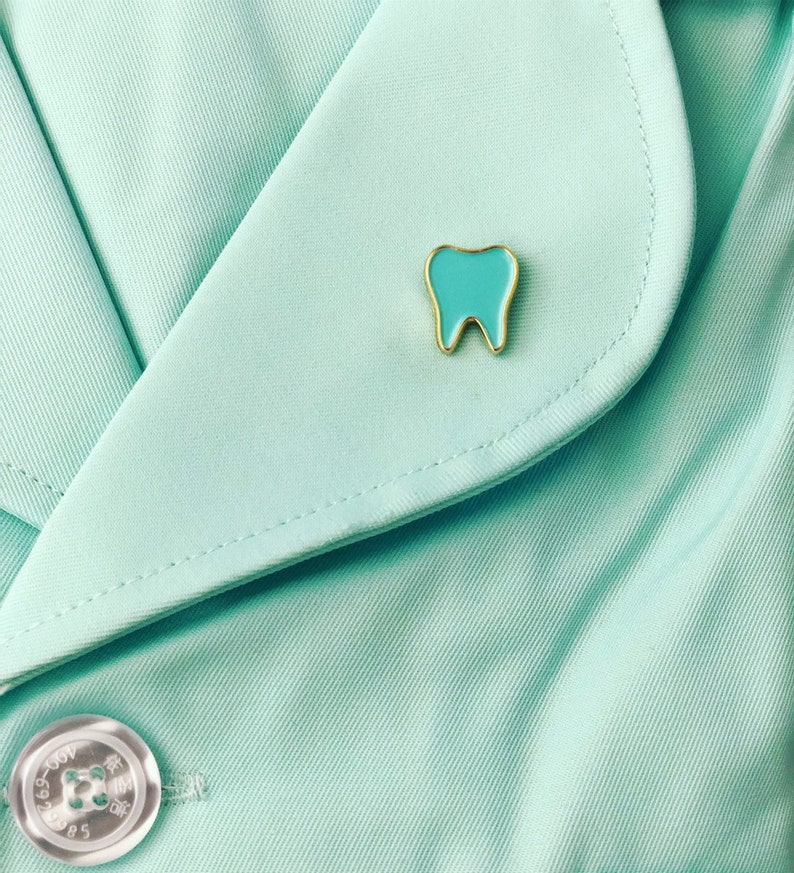 Tooth Pins for dentist dental hygienist dental assistant dentistry gift