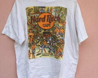 Vintage Hard Rock Cafe Bali Large Size