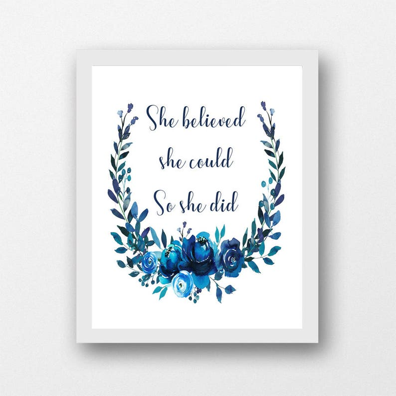 She believed she could so she did artwork aunt gifts PDF ...
