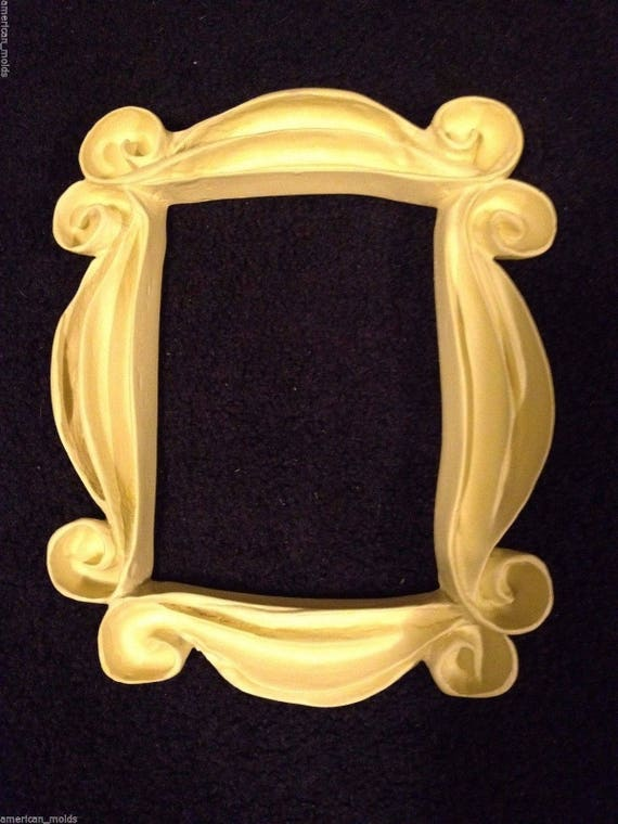 Friends TV Series show Peephole Yellow Frame Seen on