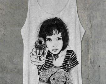 Léon The professional Film Mathilda, Natalie portman Medium Tank tops Shirt One Size Only