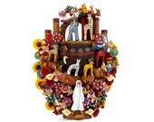 Arbol de la Vida quot Arca de Noé quot - hand-potted Mexican Tree of Life, pottery artwork, ceramic art