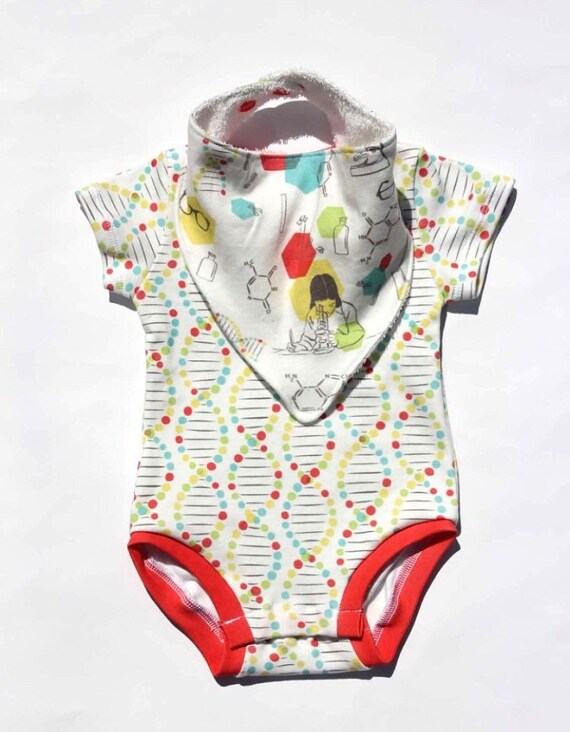 Baby Onesies DNA Art Pineapple 100/% Cotton Newborn Baby Clothes Stylish Short Sleeve Bodysuit