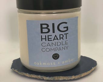 Oakmoss + Amber (16 oz jar)