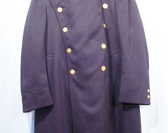 Vintage New York Police Department 1930's / 40's? Wool Overcoat