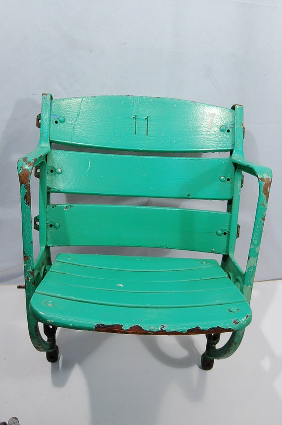 Fine 1940S Cominsky Park Chicago White Sox Lucky Stadium Seat 7 11 Onthecornerstone Fun Painted Chair Ideas Images Onthecornerstoneorg