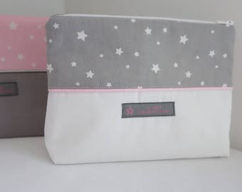 Clutch starry night Collection pink - free shipping *.
