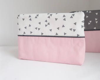 Pouch pink graphic Collection - free shipping *.