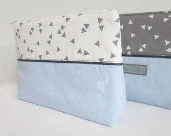 Clutch blue graphic Collection - free shipping *.
