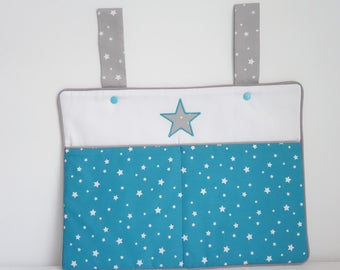 Comforters-Pajama turquoise starry night Collection - bag postage available *.