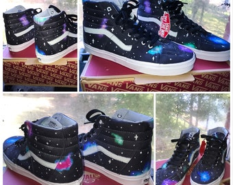 130a6eaca1 Hi Top Galaxy Vans