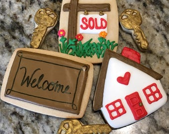 House Warming Cookie set
