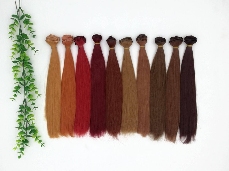 1 Piece 5*100cm Synthetic Fiber Hair Wefts Accessories For Dolls Dolls Accessories