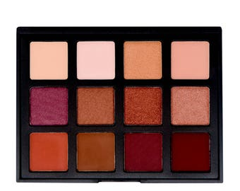 12 Color Bold Tone Eyeshadow Palette
