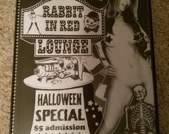 Sheri Moon Zombie The Red Rabbit Lounge Framed print Michael Myers Halloween