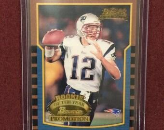 Tom Brady Rookie Card Etsy