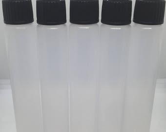 30 ML Chubby Unicorn Bottles With WIDE FILLING Port Plastic Pen Bottle Lot