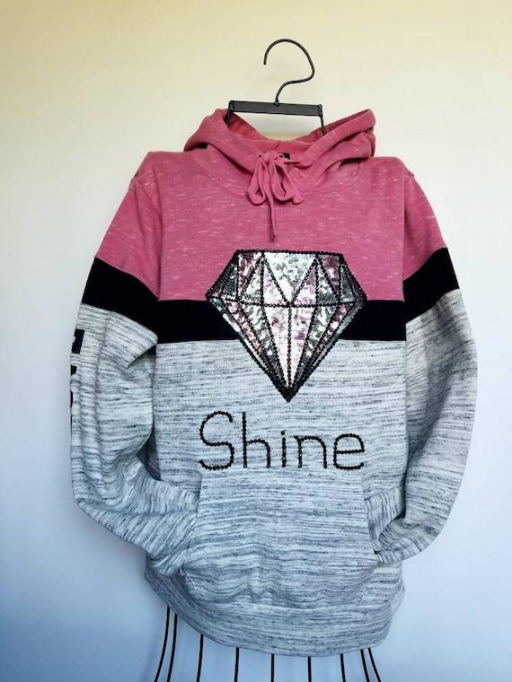 inspirational Gray hoodie