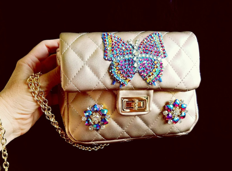 Gold butterfly purse Butterfly purses Purses