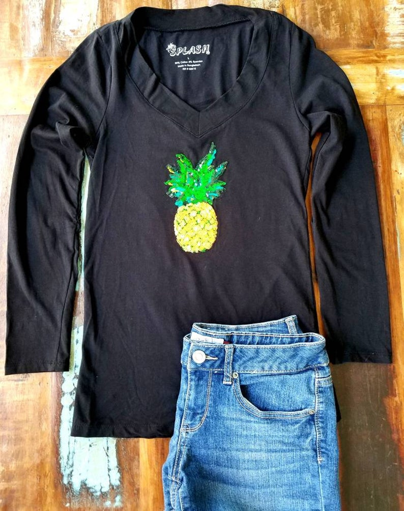 d0334d4f655c Pineapple top. Pineapple tshirts Pineapple shirt. Fruit shirt | Etsy