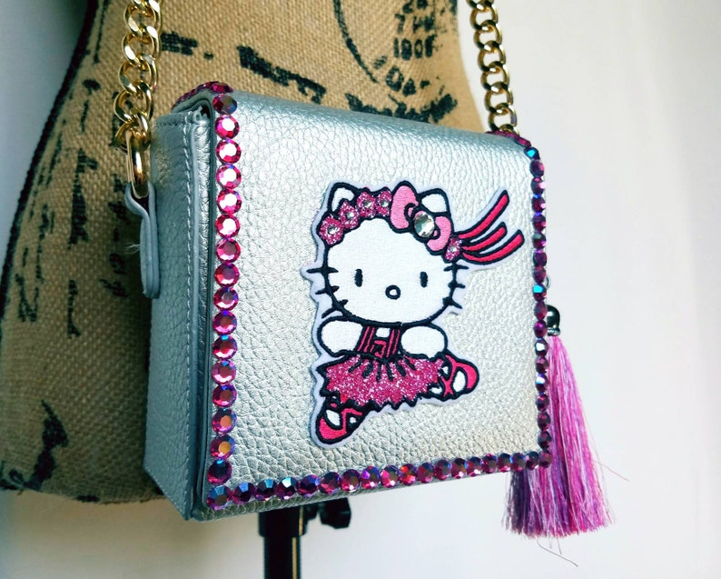 Hello Kitty purse. Ballerina purse. Hello Kitty. Gift for her.  0ce28446b5150