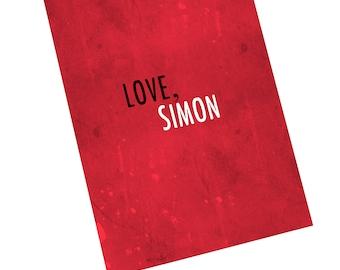 Love, Simon Notebook/Journal