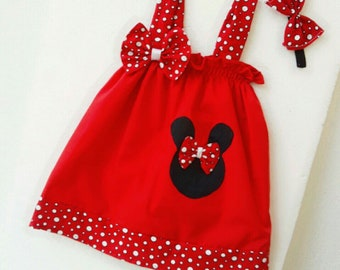 Baby dress with headband