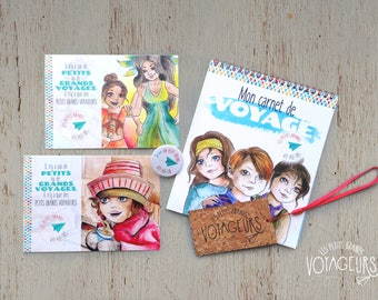 The Travel Notebook and Backpack Label Set