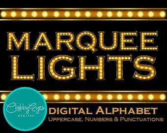 marquee light etsy