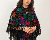 Ladies Cape Ladies Shawl Blanket Camping Accessories Mexican Poncho for women Ladies Cape