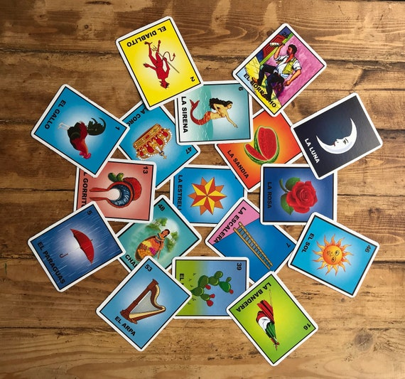 Christmas Party Invitation Mexican Party Invitation Mexican Bingo Loteria Cards Loteria Birthday Card Invitation Decoration Mexican