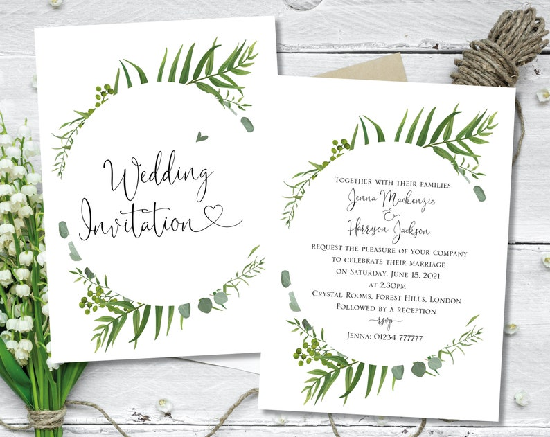 Pink Heart Wedding Invite Printed Wedding Invitation Invites Wedding Cheap Wedding Invitation Wedding Invites Wedding Invites Pink