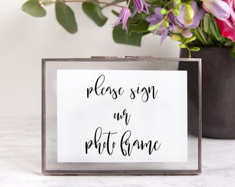 Sign Our Photo Frame Etsy