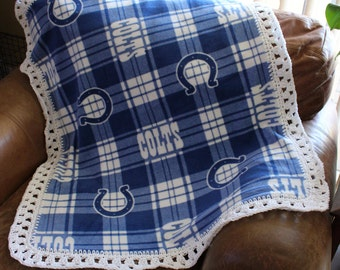 Indianapolis Colts Baby, Toddler Blanket