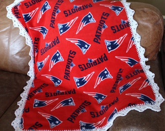 New England Patriots Baby, Toddler Blanket