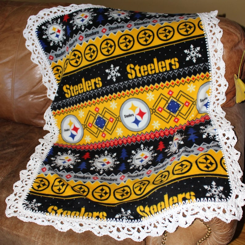 quality design 22206 60139 Pittsburgh Steelers ugly sweater Baby, Toddler Blanket